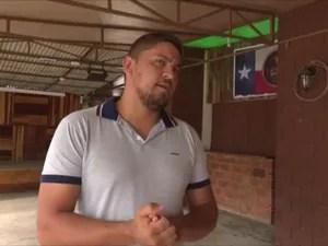 Bar do empresário Bruno Michel da Silva foi um dos notificados pela polícia (Foto: Ricardo Araújo/ Rede Amazônica)