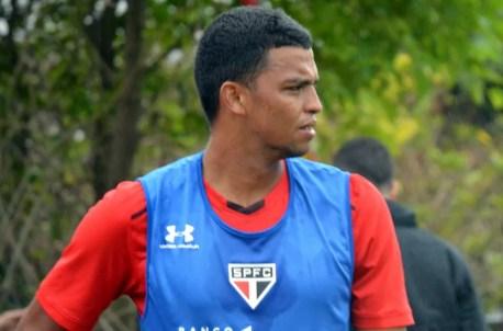 Aderllan tem contrato com o São Paulo até dezembro de 2018 (Foto: Érico Leonan / saopaulofc.net )
