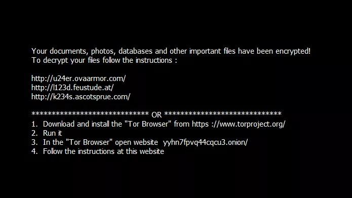 Ransomware exige uso do navegador Tor para evitar rastreamento (Foto: Divulgação/AVG)