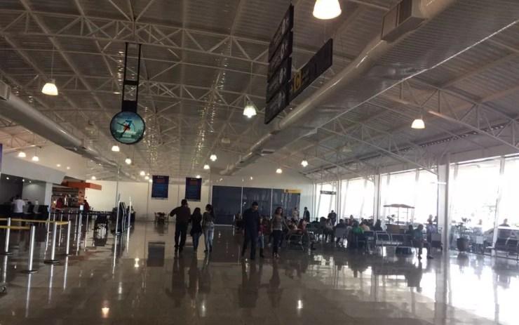 Aeroporto de Rio Preto é fechado por quatro horas devido a nevoeiro (Foto: Graciela Andrade/TV Tem)