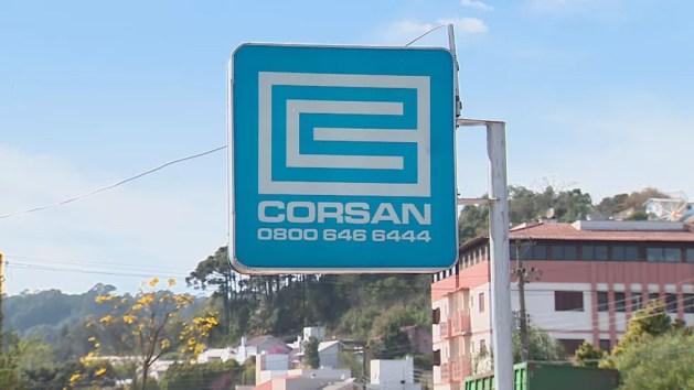 Corsan foi fundada na década de 1960, e teve lucro em 2020 — Foto: Reprodução/RBS TV