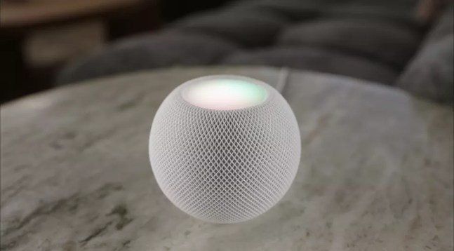 HomePod Mini — Foto: Reprodução/Apple
