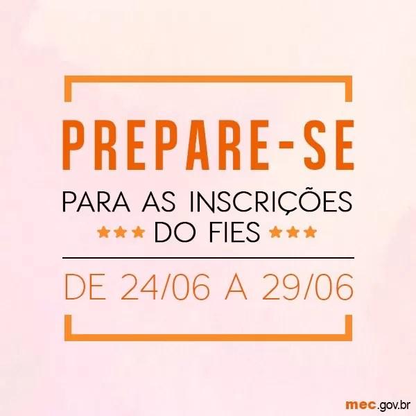 Inscrições do Fies de segundo semestre começaram na sexta-feira (24) e seguem até quarta-feira (29). (Foto: Divulgação/MEC)