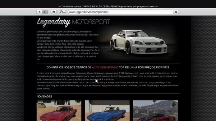 GTA 5: Confira Os Melhores Sites Para Acessar No Game