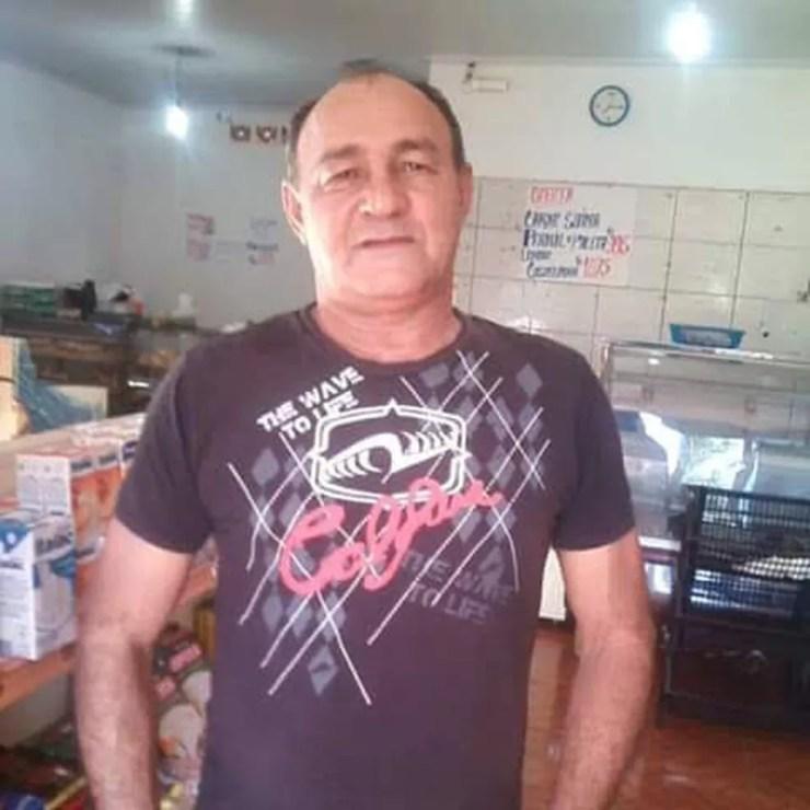 José Leonel Ferreira, morto com golpes de ferro na cabeça — Foto: Arquivo de família