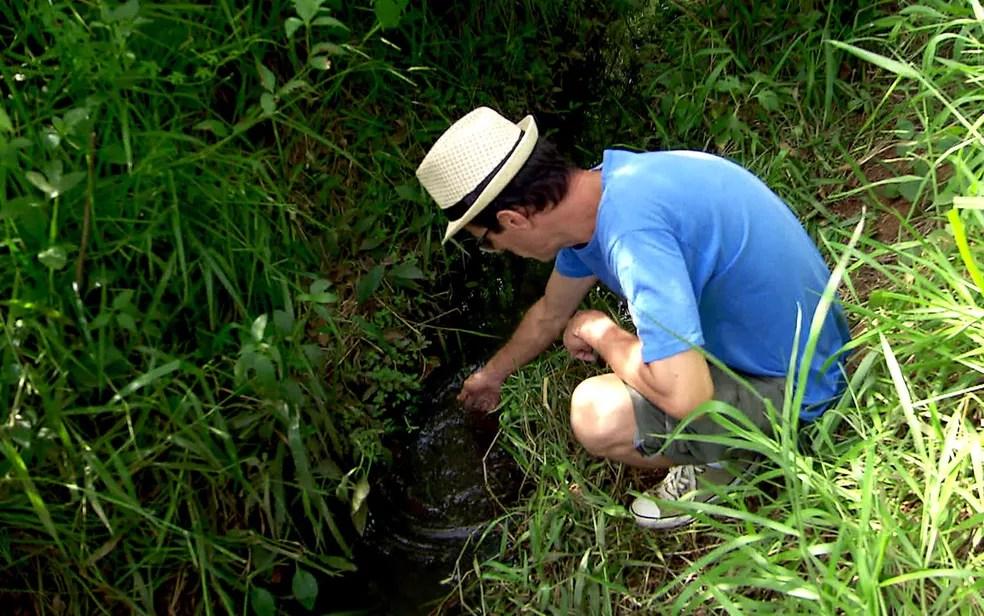 Resultado de imagem para ativista ambiental Adriano Sampaio