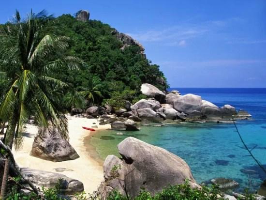 Ilha de Koh Tao, na Tailândia (Foto: Terry Williams / Getty Images)