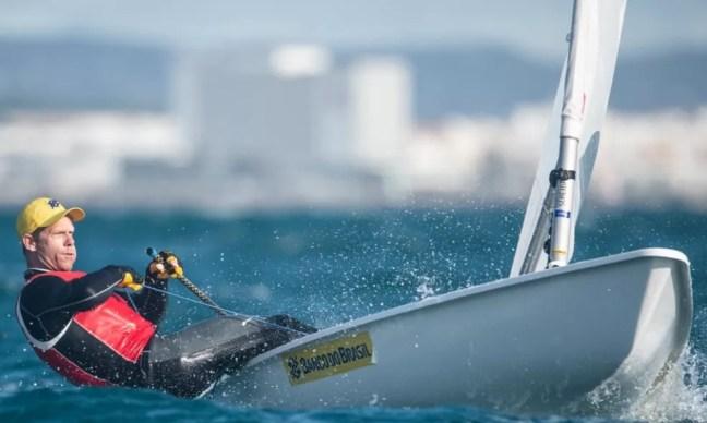 Robert Scheidt ficou em terceiro no GP de Portugal — Foto: João Costa Ferreira/Osga Photo