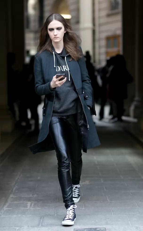 Street style em Paris (Foto: Imaxtree)