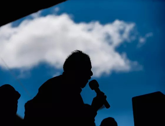 Lula discursa em Marcolândia (PI) (Foto: Adriano Machado/ÉPOCA)