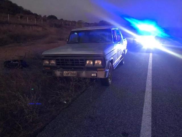 O carro do pré-candidato foi encontrado abandonado às margens da BR-226 — Foto: Cedidas pela família