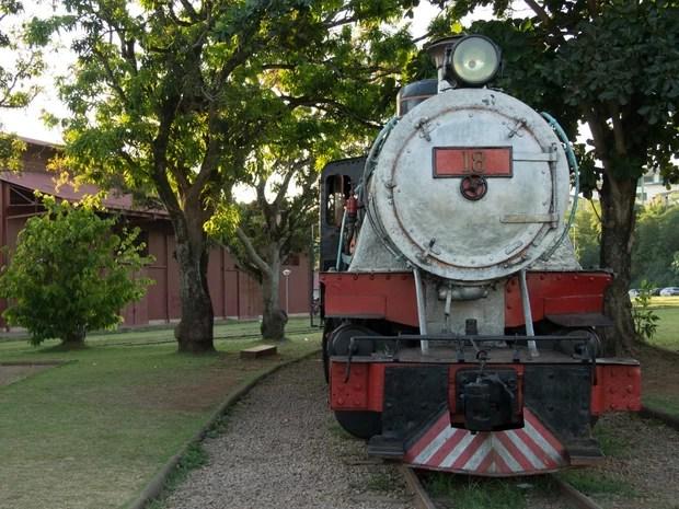 Complexo da Estrada de Ferro Madeira-Mamoré foi revitalizado e entregue à população em 2010 (Foto: Jenifer Zambiazzi/G1)