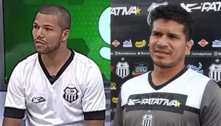 Vitão e Fernando Pires são emprestados ao Salgueiro (Foto: Lafaete Vaz / GloboEsporte.com)