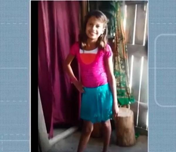 Letícia de Almeida morreu após ser atropelada, em Itabela — Foto: Reprodução/TV Santa Cruz