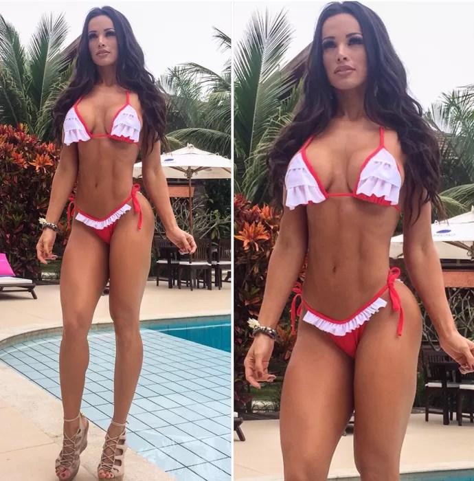 Fernanda D'avila chega aos 30 anos de idade com um corpo de fazer babar (Foto: Arquivo Pessoal)