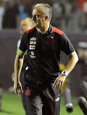 Dorival Junior na partida do Flamengo  (Foto: Alexandre Vidal / Fla Imagem)