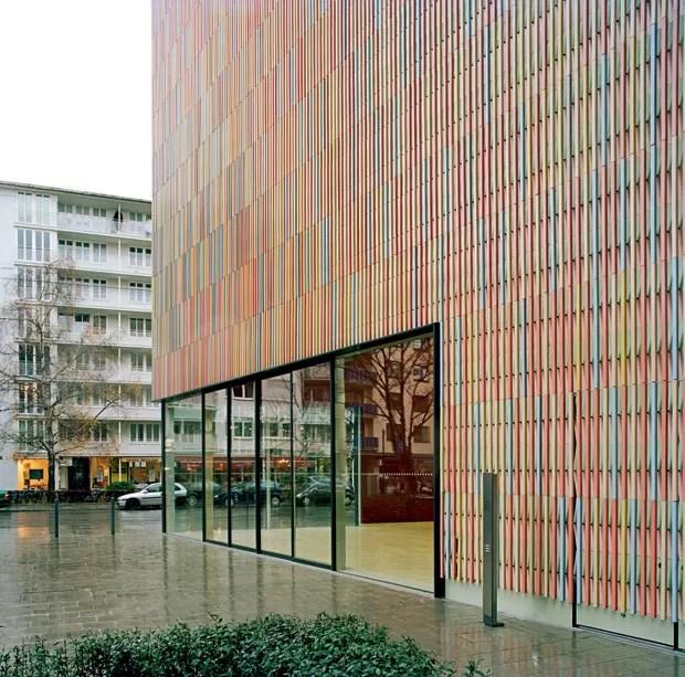 Brandhorst Museum, 2009, Munique, projeto de Sauerbruch Hutton (Foto: Annette Kislin)
