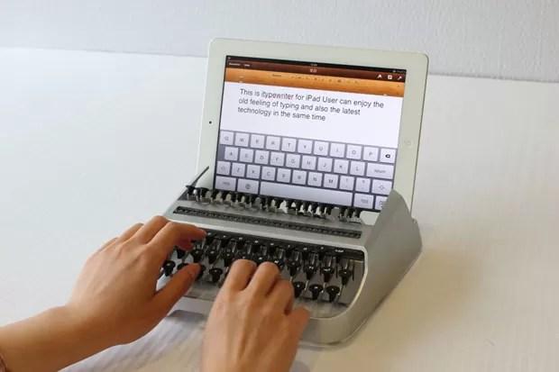 iTypewriter é máquina de escrever para o iPad (Foto: Divulgação)