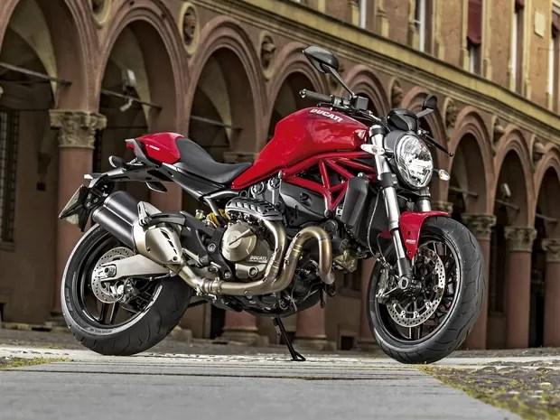 Ducati Monster 821 (Foto: Divulgação)
