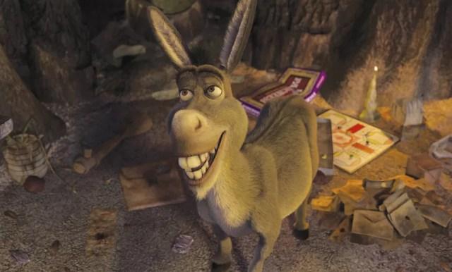 Burro, do filme Shrek (Foto: Reprodução)