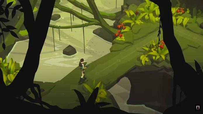 Lara Croft Go (Foto: Reprodução/YouTube)