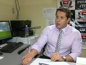 Delegado de Jardinópolis recebeu novas denúncias sobre suposto pedófilo (Foto: Reprodução/EPTV)