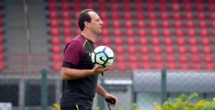 Rogério Ceni abriu o ano como técnico do São Paulo (Foto: Rubens Chiri / saopaulofc.net)