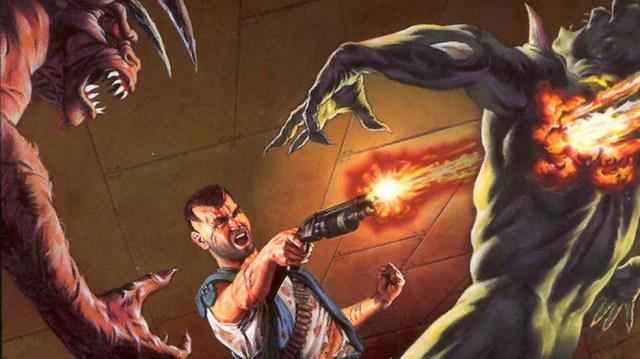 Doom trazia violência extrema para a época (Foto: Divulgação/id Software)