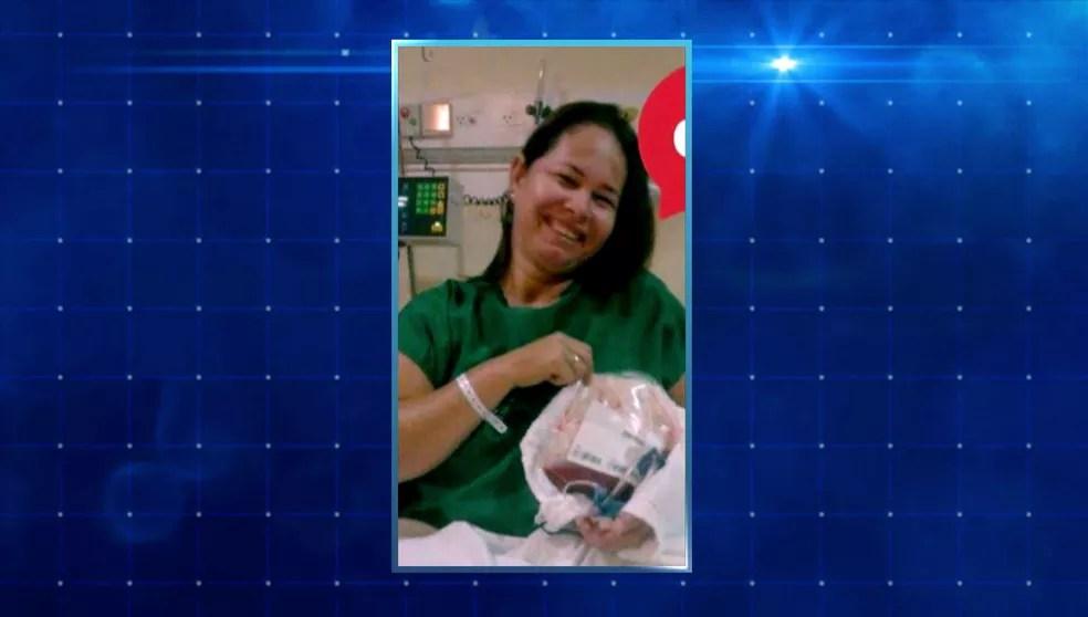 Elza Boaro doou medula óssea e salvou a vida de Gabriel Massote — Foto: TV Globo