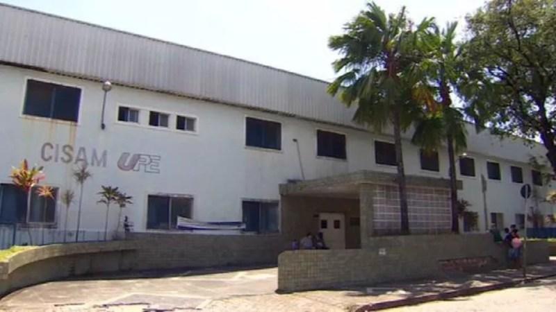 Maternidade em Pernambuco onde menina de 10 anos fez aborto legal — Foto: GloboNews/Reprodução