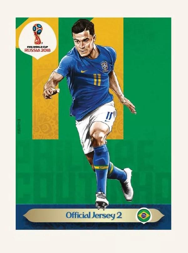 Canarinho Pistola aparecerá no álbum da Copa do Mundo