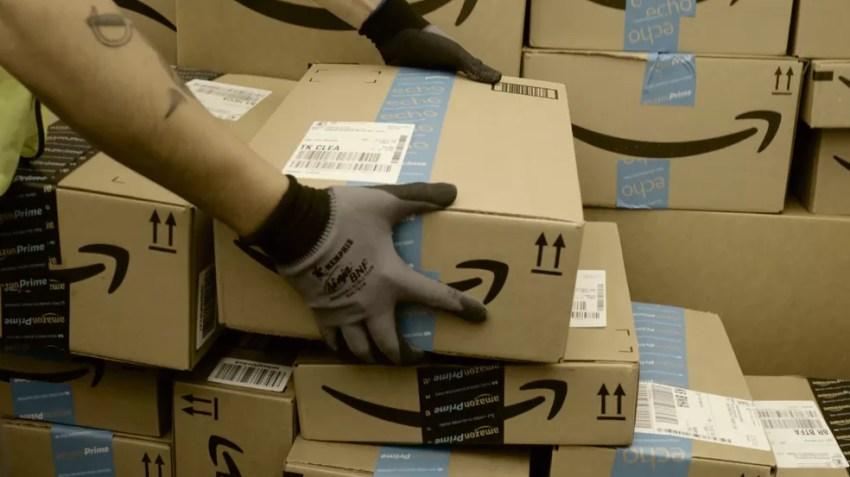 Amazon usa pacotes falsos como isca para funcionários desonestos — Foto: Divulgação/Amazon