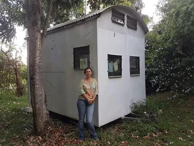A nova casa - uma espécie de trailer que ela está reformando - ficará na fazenda de amigos (Foto: Divulgação/Jo Lowimpact)