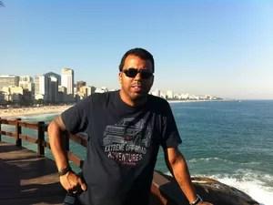 O cinegrafista Santiago Andrade teve morte cerebral decretada nesta segunda-feira (10) (Foto: Arquivo Pessoal)