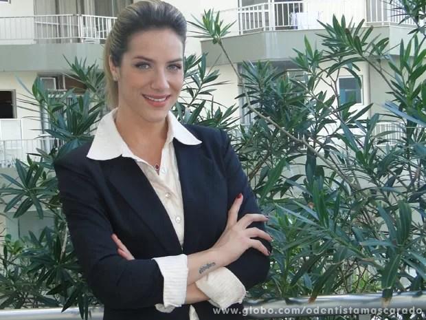 Giovanna Ewbank participa de seriado (Foto: O Dentista Mascarado / TV Globo)