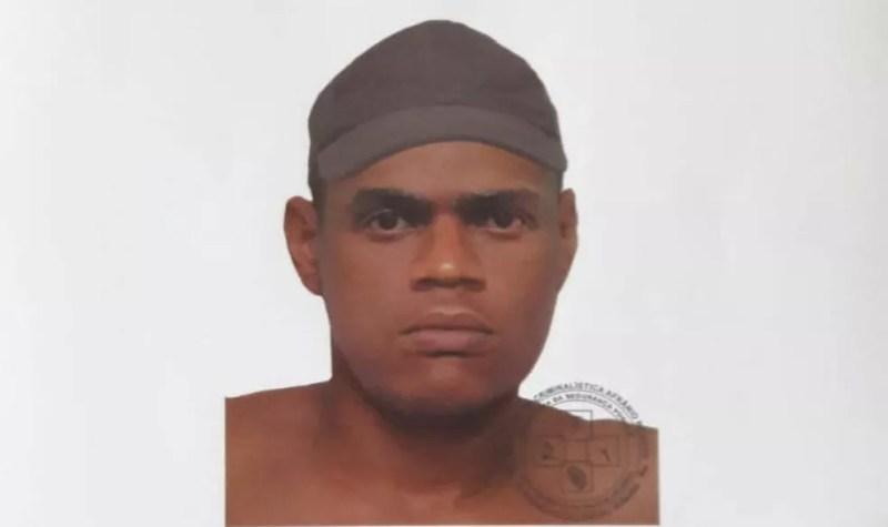 Polícia Civil divulga retrato falado de suspeito de matar professora a mando do ex na Bahia  — Foto: Divulgação/Polícia Civil