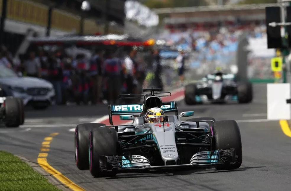 Lewis Hamilton e Valtteri Bottas , Fórmula 1, Mercedes (Foto: Reprodução)