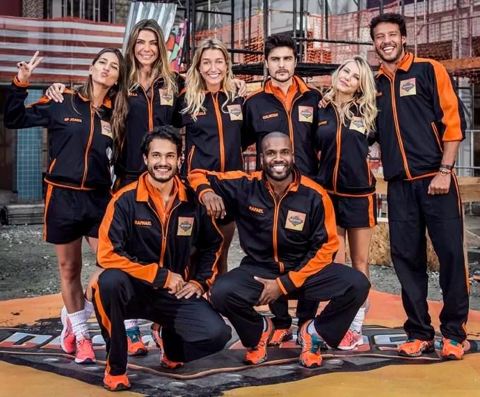 Conheça o time que participará do novo quadro do Caldeirão (Foto: Gshow)