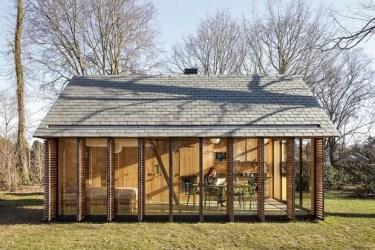Um refúgio de campo simples e compacto Casa Vogue Casas