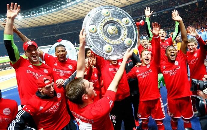 Bayern de Munique campeão alemão taça bundesliga (Foto: Reuters)