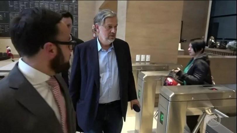 Em delação, Palocci diz que Lula recebeu dinheiro em espécie de propina da Odebrecht — Foto: Reprodução/JN