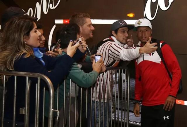 Luis Fabiano São Paulo (Foto: Rubens Chiri /  Site oficial SPFC)