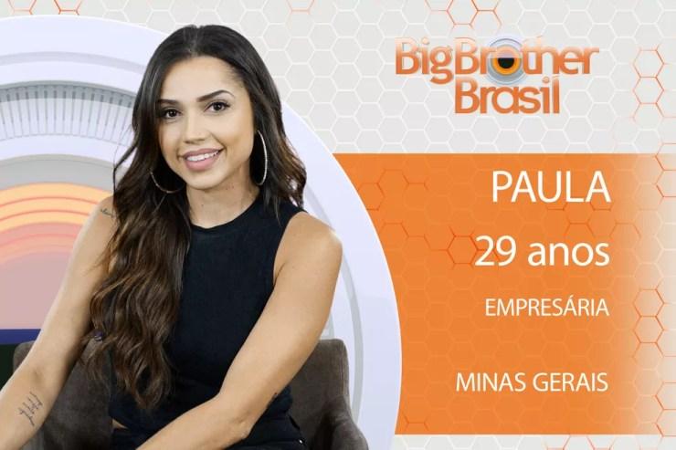 A empresária Paula estará no 'BBB18' (Foto: Divulgação)