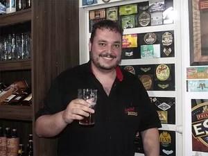 Matheus Franco, do crowdfunding Social Beers (Foto: Taiga Cazarine/G1)