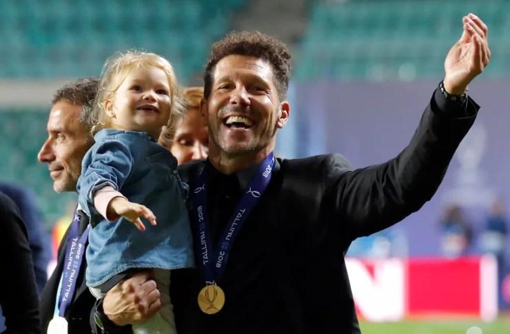 Diego Simeone treinou o Catania, voltou à Argentina e aí sim foi empregado no Atlético; hoje é o sul-americano de maior sucesso na Europa (Foto: Reuters)