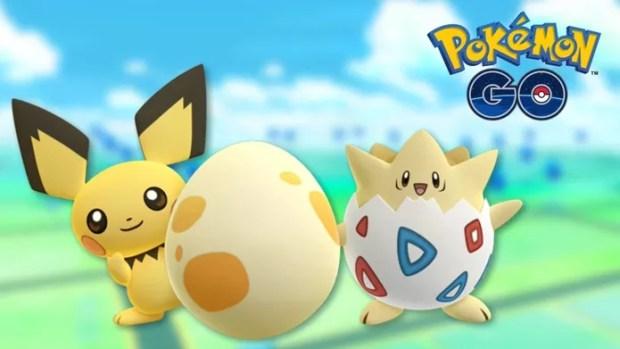 Pichu e Togepi são as novidades em Pokémon GO