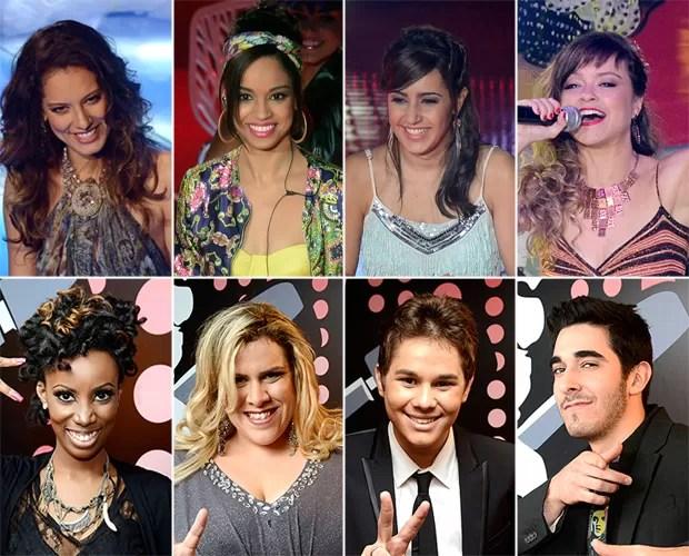 Todos os eliminados da semifinal 3 (Foto: The Voice Brasil/TV Globo)