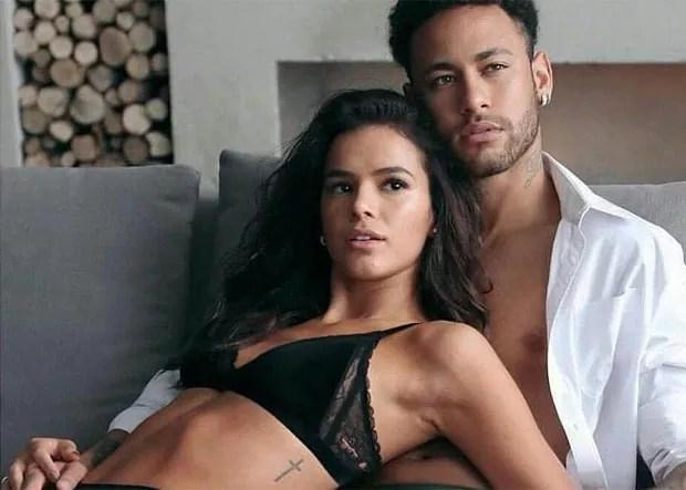 Bruna Marquezine e Neymar (Foto: Divulgação/CeA)