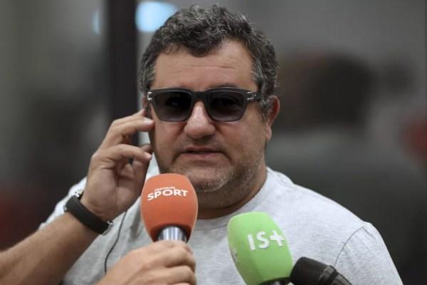 Mino Raiola, empresário de Donnarumma (Foto: AFP)