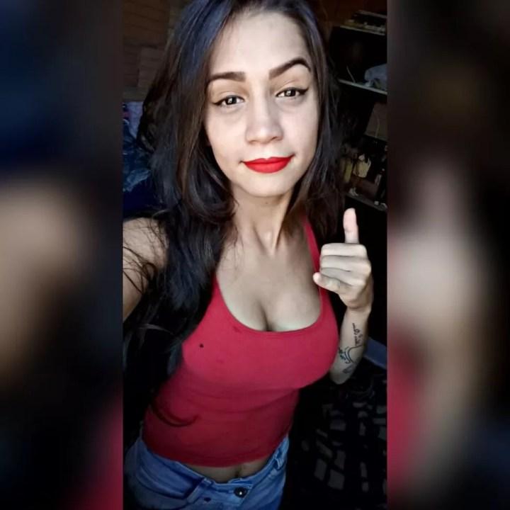 Emily Tawanne da Silva Rodrigues, de 20 anos, foi morta a facadas em Sinop — Foto: Facebook/Reprodução